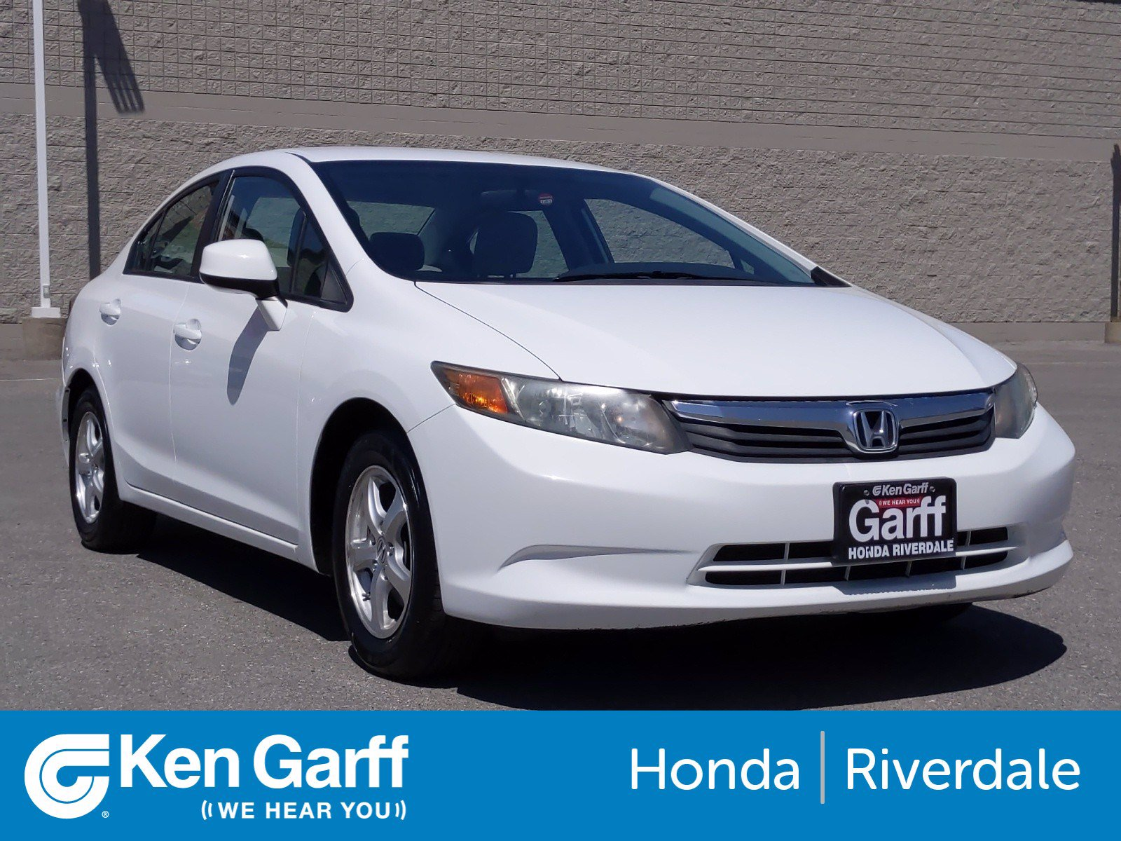 Pre-Owned 2012 Honda Civic Sdn CNG