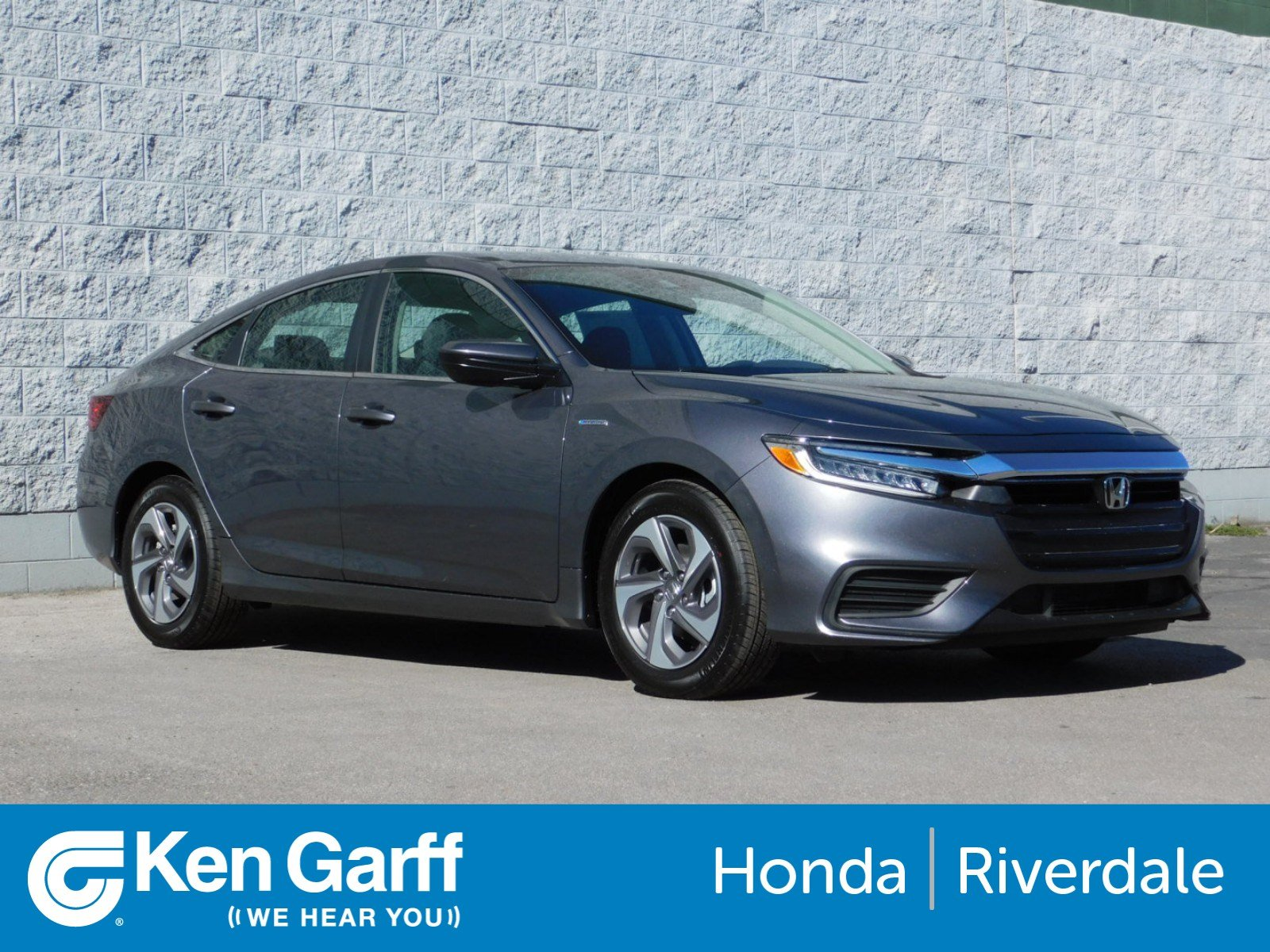 New 2019 Honda Insight LX 4dr Car in Ogden 3H