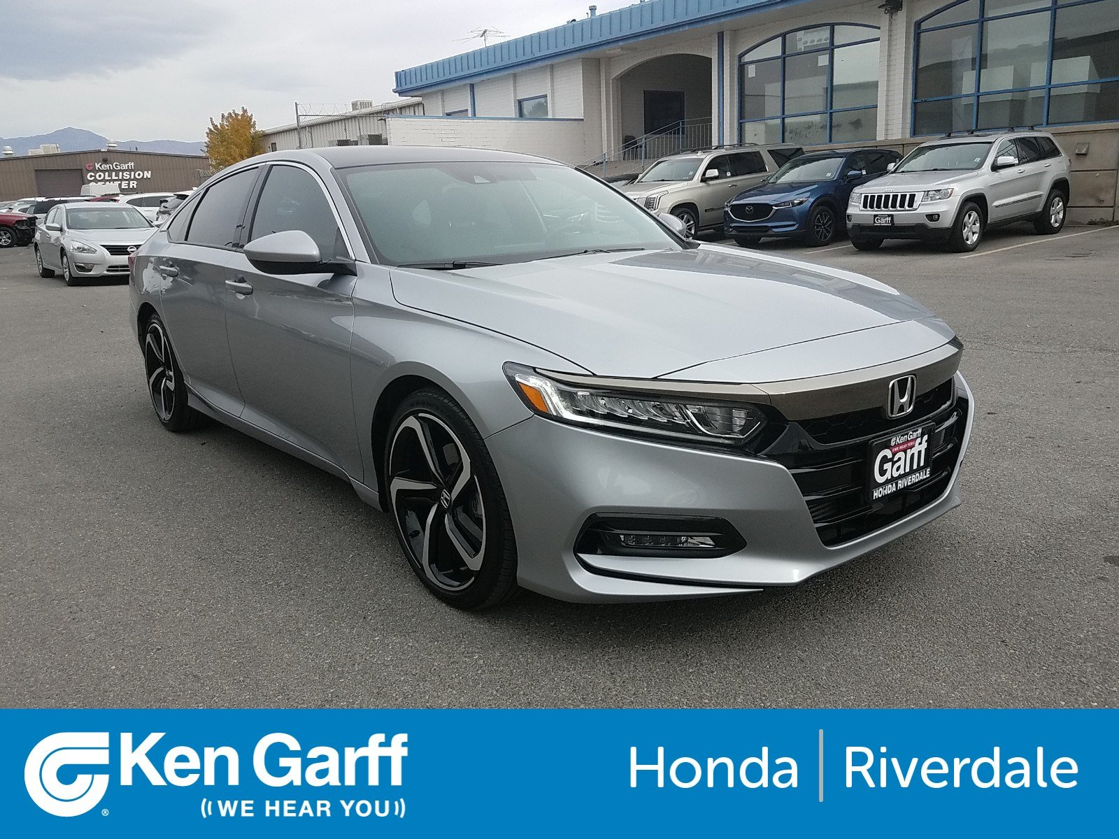 Certified Pre-Owned 2018 Honda Accord Sedan Sport 1.5T