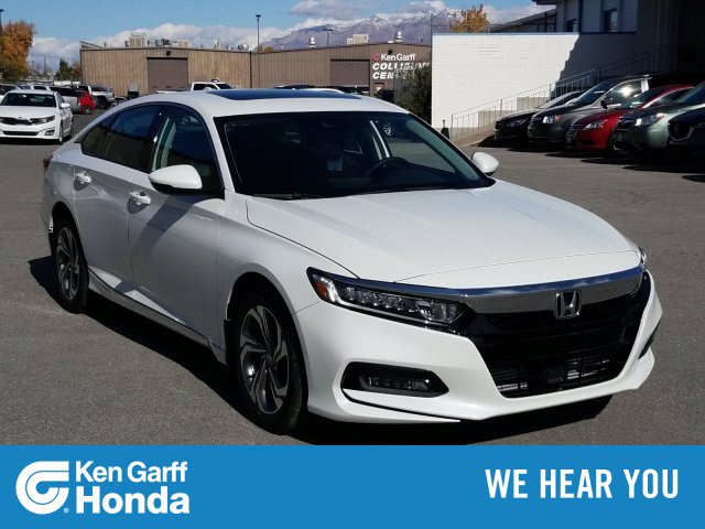 New 2020 Honda Accord Sedan EX-L 1.5T