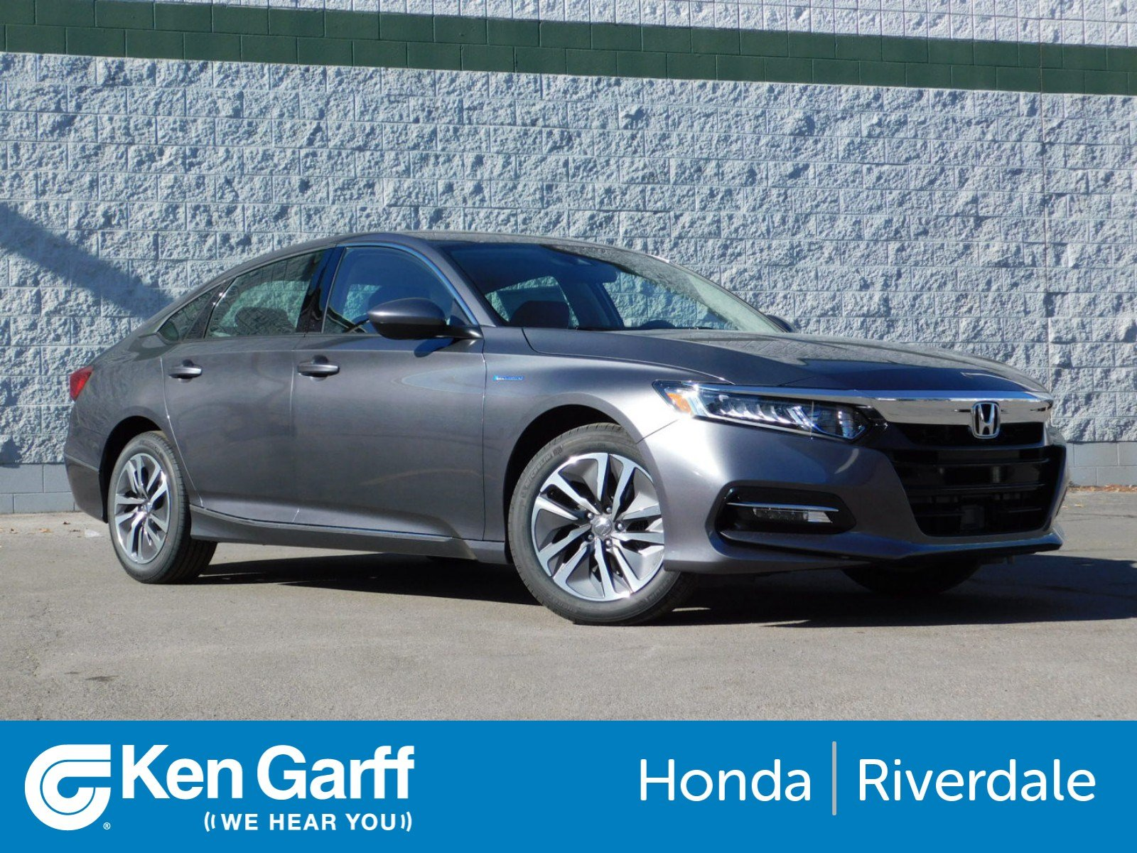 New 2018 Honda Accord Hybrid EX 4dr Car in Ogden 3H